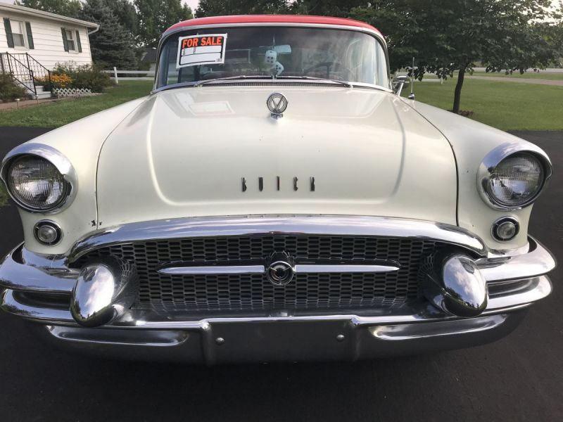 Vintage automobile at auction