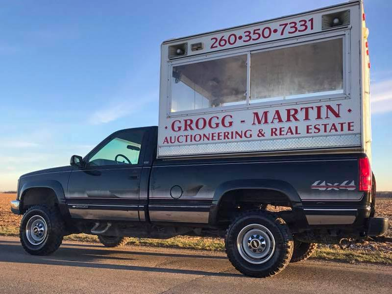 Grogg-Martin Auction Truck