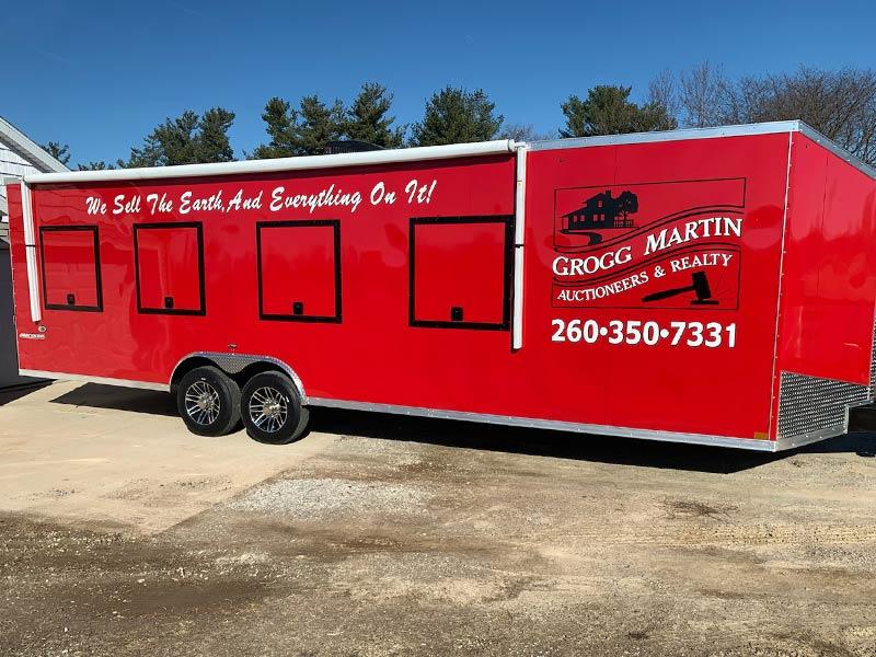 Grogg-Martin Service Trailer