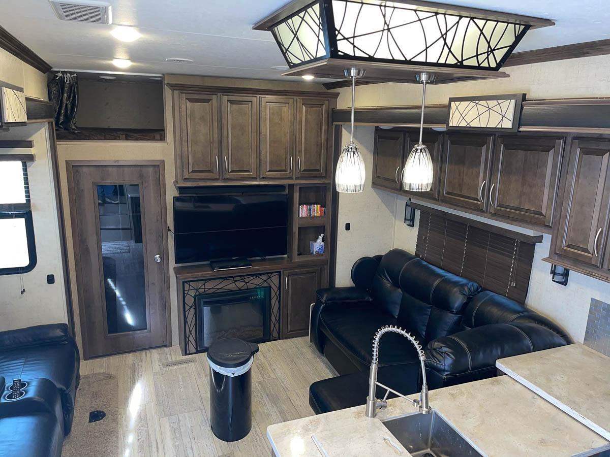 2019 KZ RV Venom 3911TK Living Area