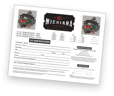 Michiana Farm Show Vendor Application