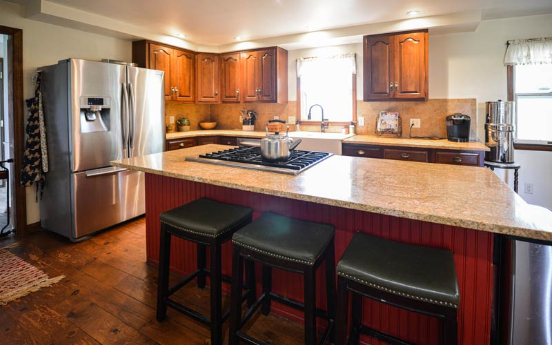 Kitchen photo of home for Auction: 0675 W 300 N, Howe, Indiana
